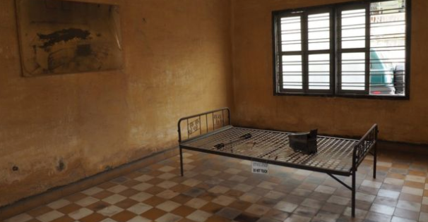 Tuol Sleng was turned from a school to a prison, torture site and death camp ©2020 Getty Images