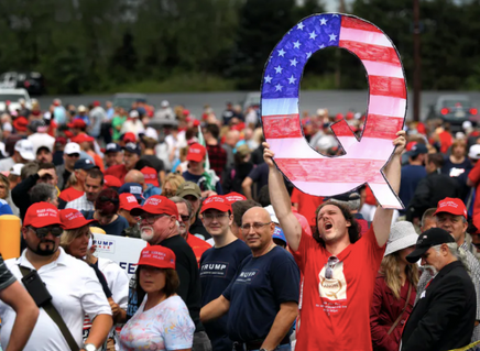How QAnon uses satanic rhetoric to set up a narrative of 'good vs. evil'