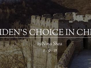 Biden's Choice in China