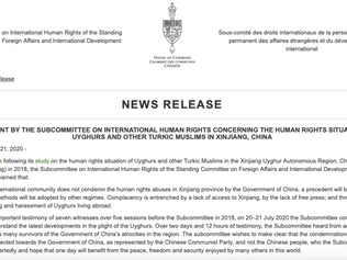Canadian Parliamentary Committee Recognize China's Atrocities in East Turkistan as a 'Genocide'