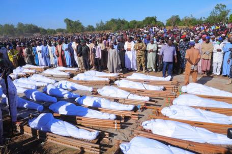 'Tens of civilians' killed in gruesome Nigeria massacre, UN says