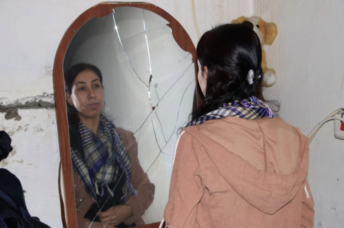 Layla hopes that by sharing her story, she can help other women in a similar position [Salah Hassan Baban/Al Jazeera]