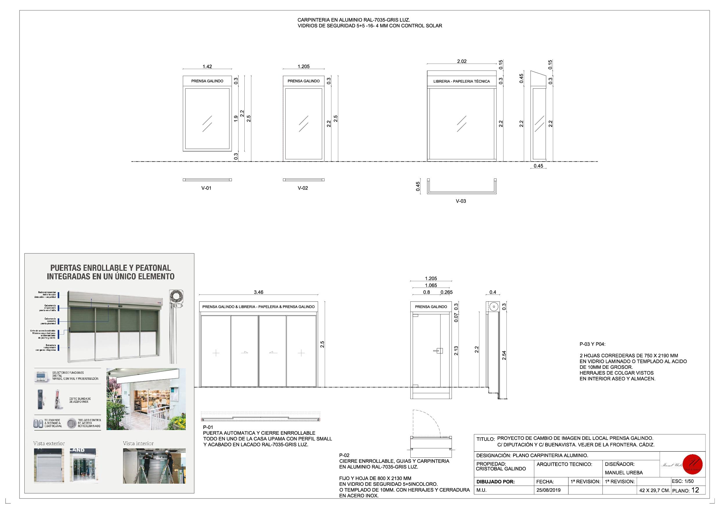 I. PROYECTO PDF PRENSA GALINDO. PLANOS