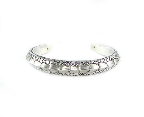 Silver Dragon Tail Cuff Bracelet