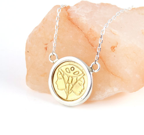 Gemini Zodiac - Gold Layering Necklace