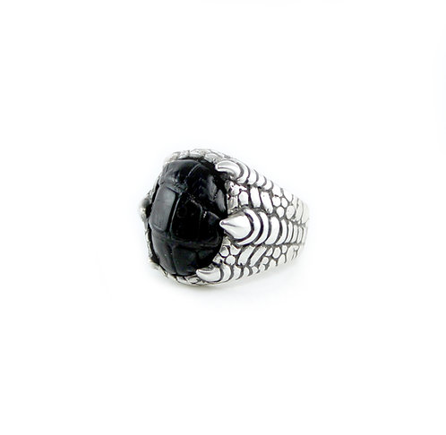 Alligator Ring with Claw Detailing