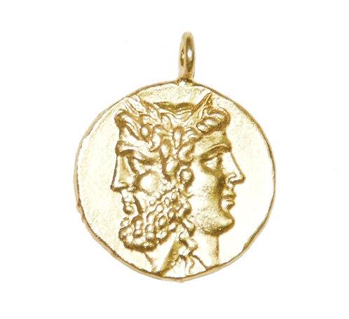 Janus Coin Pendant