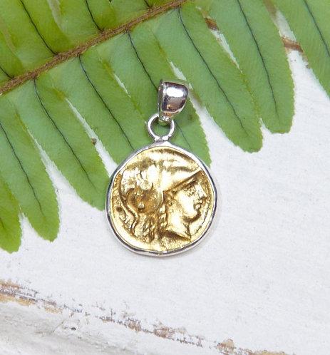 Athena Coin Pendant