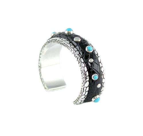 Signature Cuff Bracelet -Sleeping Beauty Turquoise