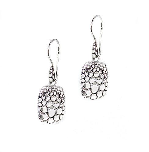 Textured - Sterling Silver Earrings