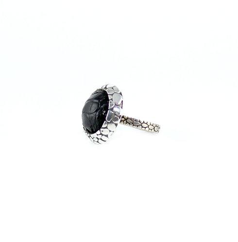 Petit Round - Alligator Ring