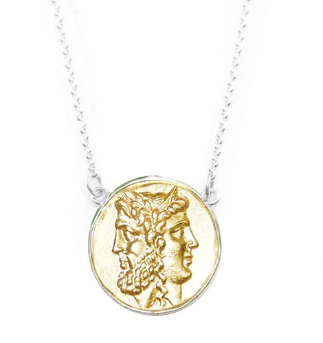 Janus Coin - Layering Necklace