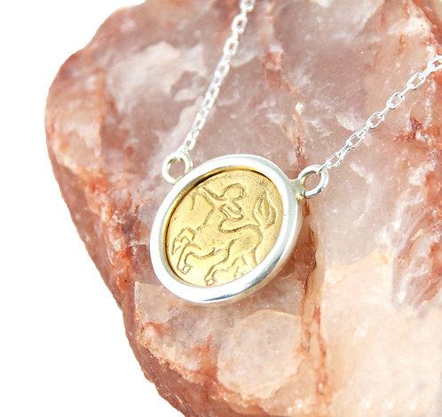 Sagittarius Zodiac - Gold Layering Necklace