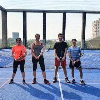 Decathlon Tennis - Adult improver group, Tuesday 1pm, Sep 2020