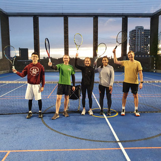 Decathlon Tennis - Adult improver group, Thursdays 6pm, Sep 2020