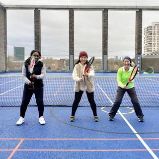Decathlon Tennis - adult Beginners group Saturdays 10 am, Oct 2020