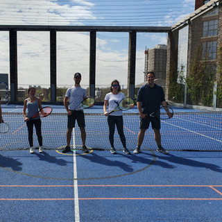 Decathlon Tennis adult Beginners L-2 group