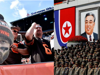 How the Cleveland Browns are like North Korea