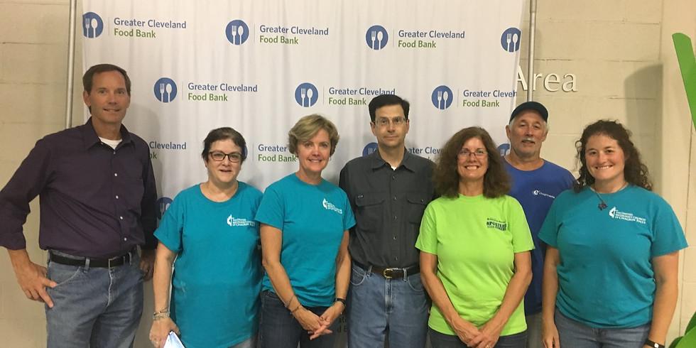 Cleveland Food Bank Volunteer