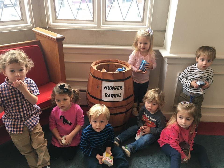 Hunger Barrel