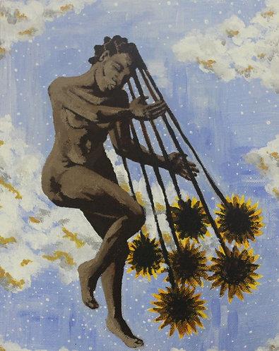 Girl with the Sunflower Hair