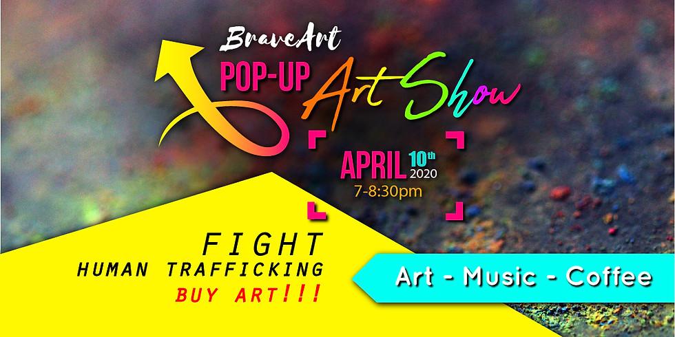 BraveArt Pop-Up Art Show 2020
