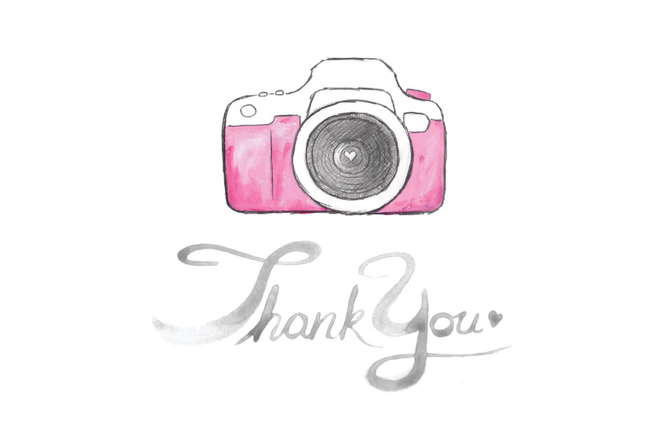 Logo and Thank you card design for photographer
