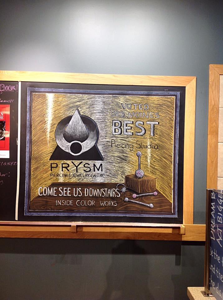 Chalkboard Advertising