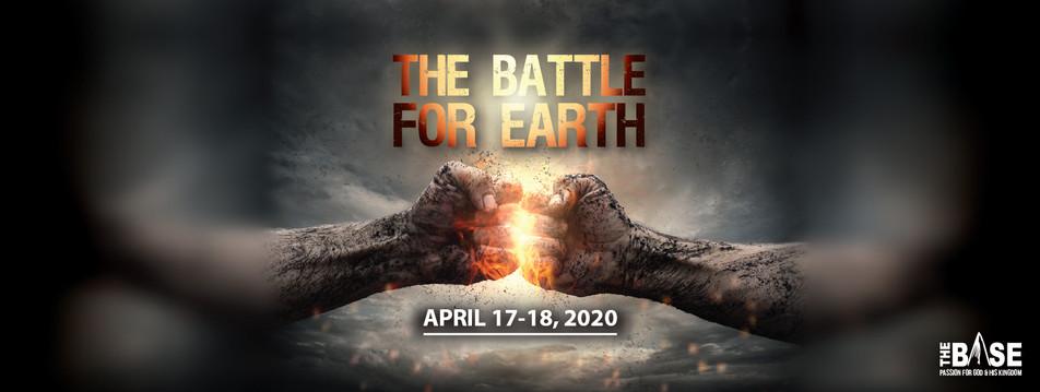 Battle for earth event design social media