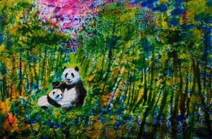 RICE PAPER PANDAS