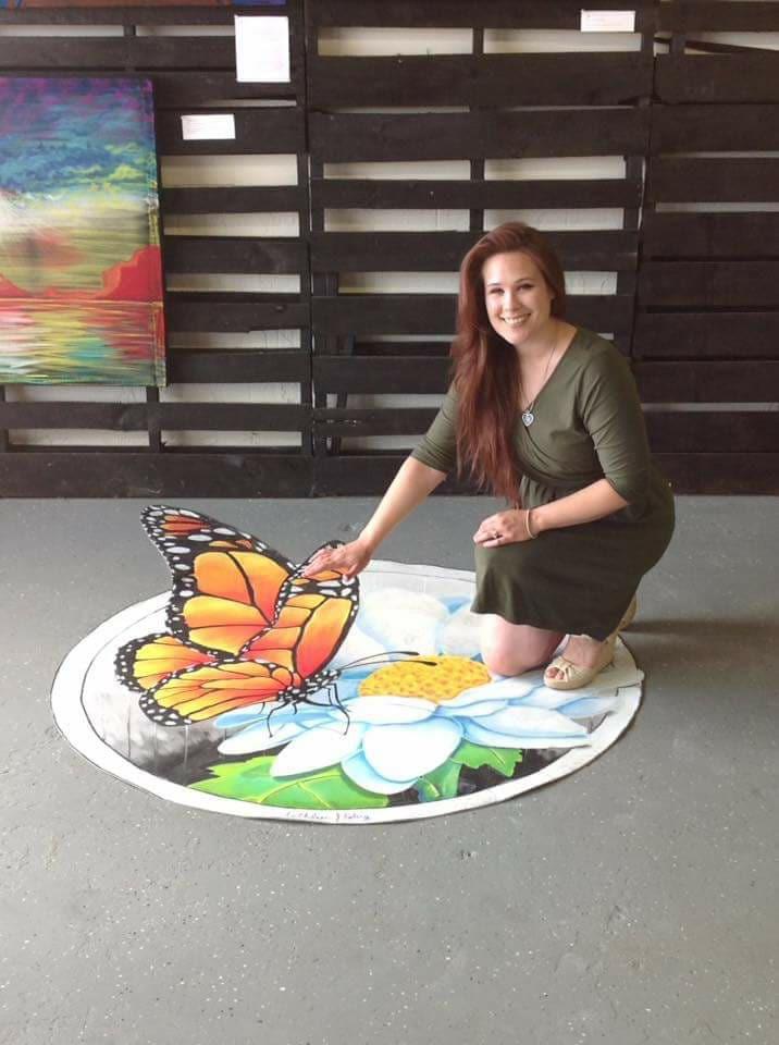 Butterfly indoor 3D Piece