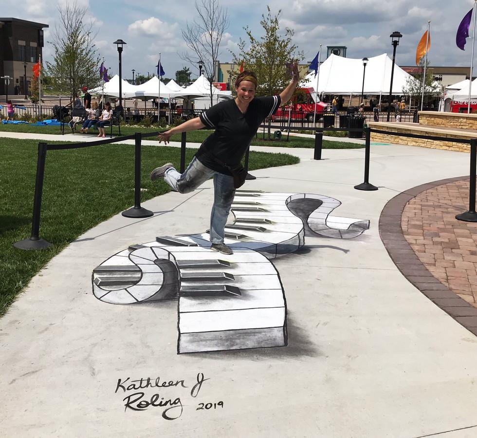 3D Chalk Art_Kathleen Roling