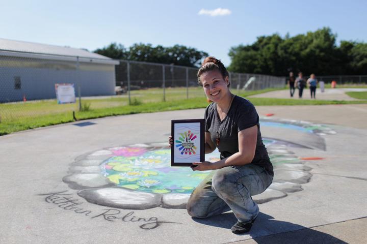 Kathleen_Roling_Chalk_Artist_Iowa_award_winning