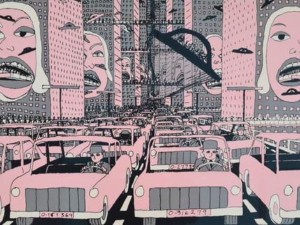 Automóvel, alienação e distopia