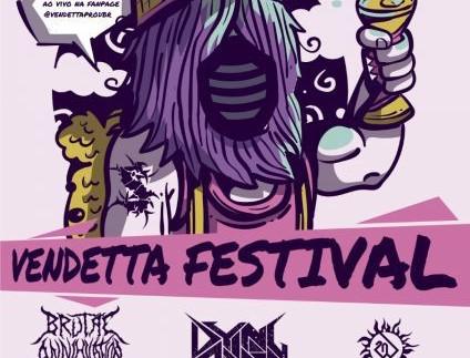 Cinco bandas se apresentam em Festival Vendetta de Heavy Metal no Beco do Candeeiro neste sábado (18