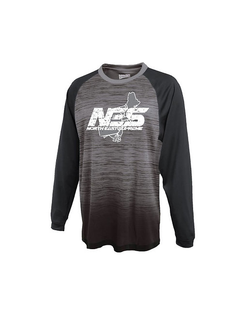 Distressed NES Long Sleeve T-Shirt