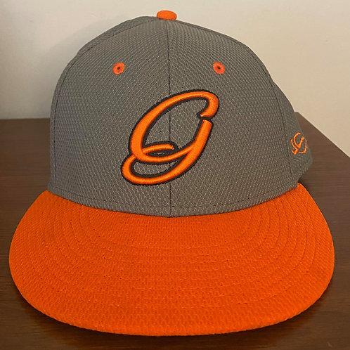 Gray/Orange Hat 2021