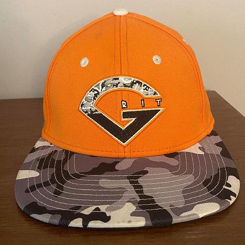 Orange Camo Hat 2021