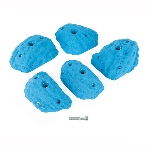 סט אחיזות סלופירים דמוי סלע - Rock slopers #2 - M-L