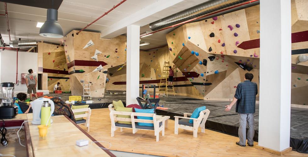 campus climbing - קיר טיפוס קמפוס כרמיאל