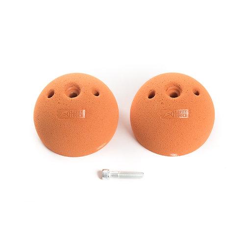 זוג אחיזות סלופר 3/4 כדור - Pair of 3/4 sphere hold