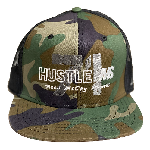 RMS Hustler 71 Camo FlatBill Hat