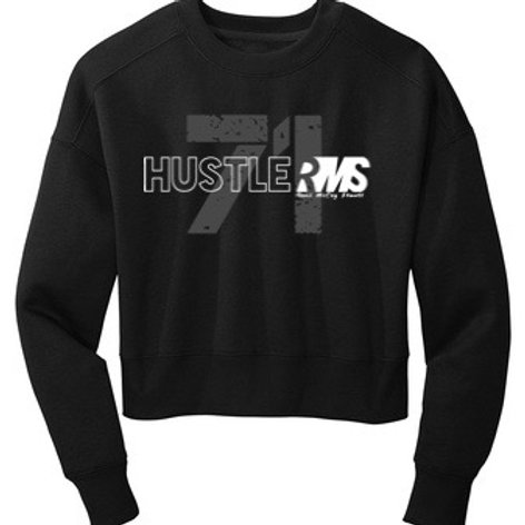 RMS Hustler 71 Woman's Fleeced Crew Sweatshirt