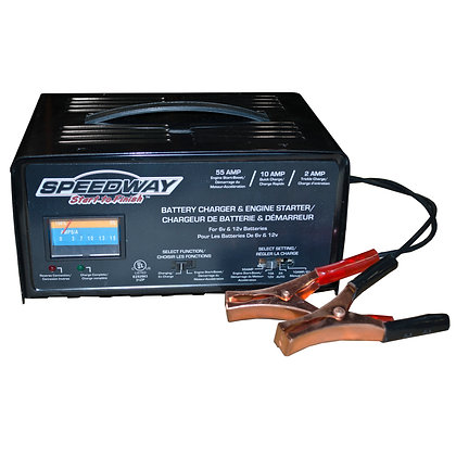 120-Volt 2.2-Amp Battery Charger and Starter