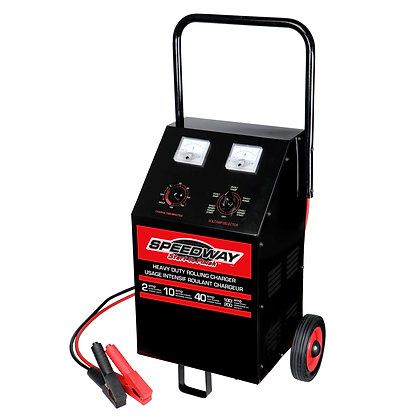 100-Amp Rolling Battery Charger