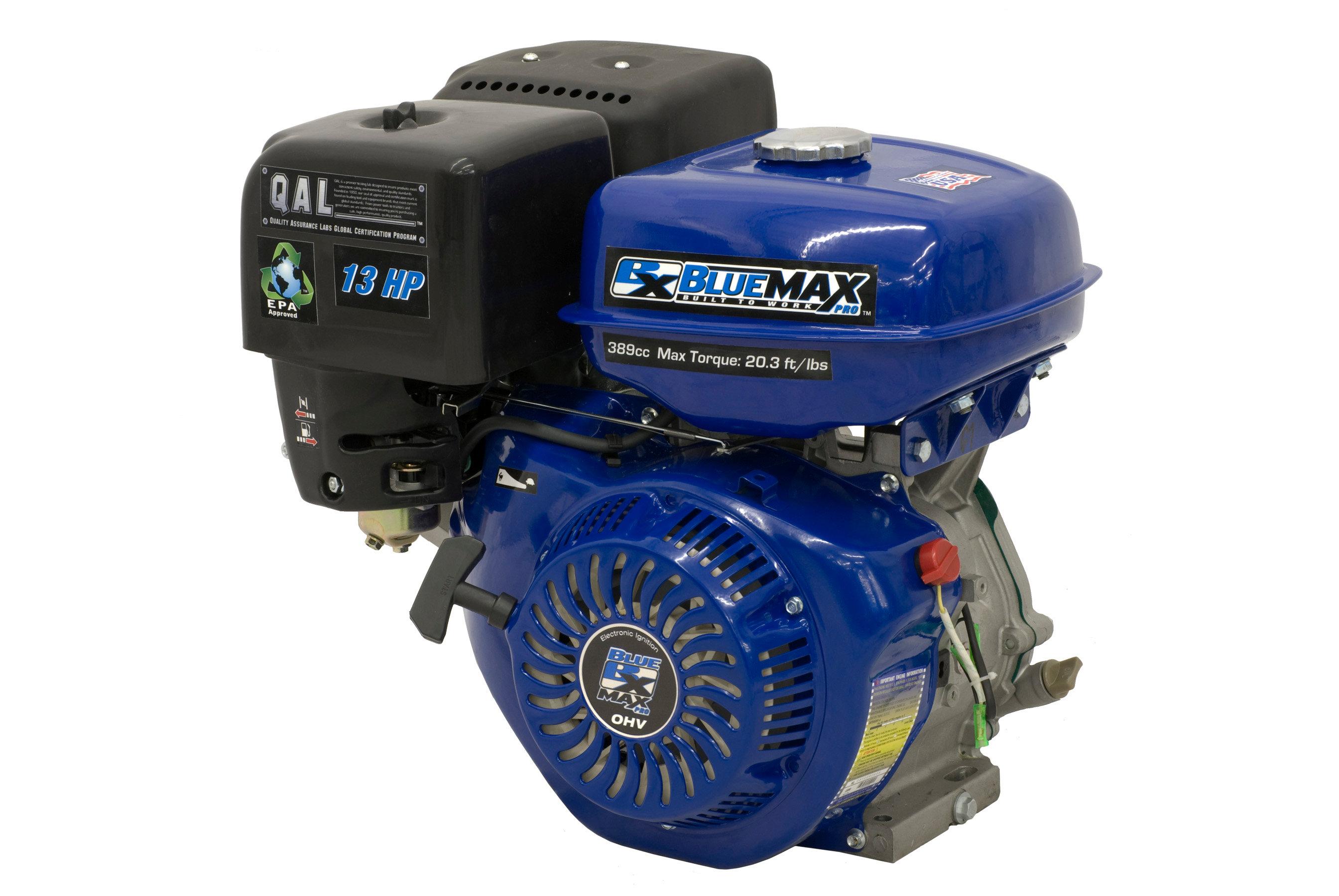 BlueMax 13 HP OHV Horizontal Shaft Gasoline Engine | nati