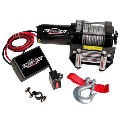 3000 lb. 12-Volt Capacity Electric Wench