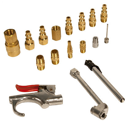 17-Piece Air Tool Accessory Kit