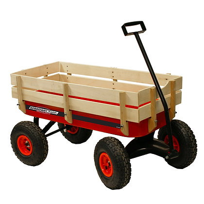 200 lb. All-Terrain Wooden Racer Wagon