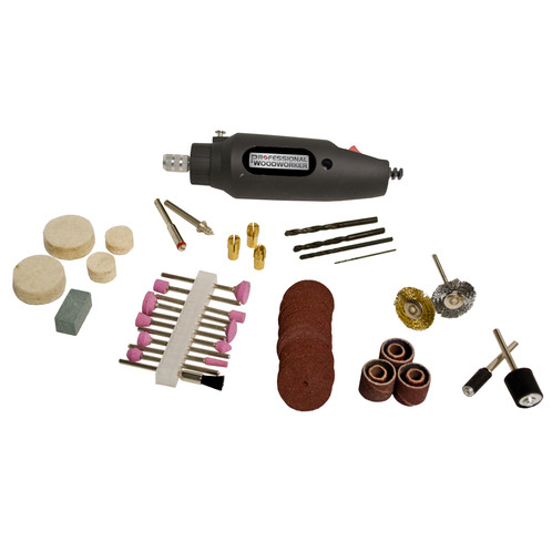Professional Woodworker Rotary Tool Kit - 80 piece